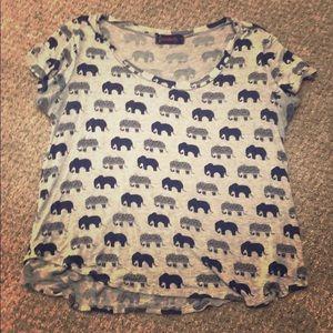 Cute elephant shirt